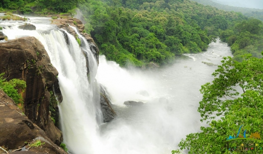 athirapally waterfall in Kerala