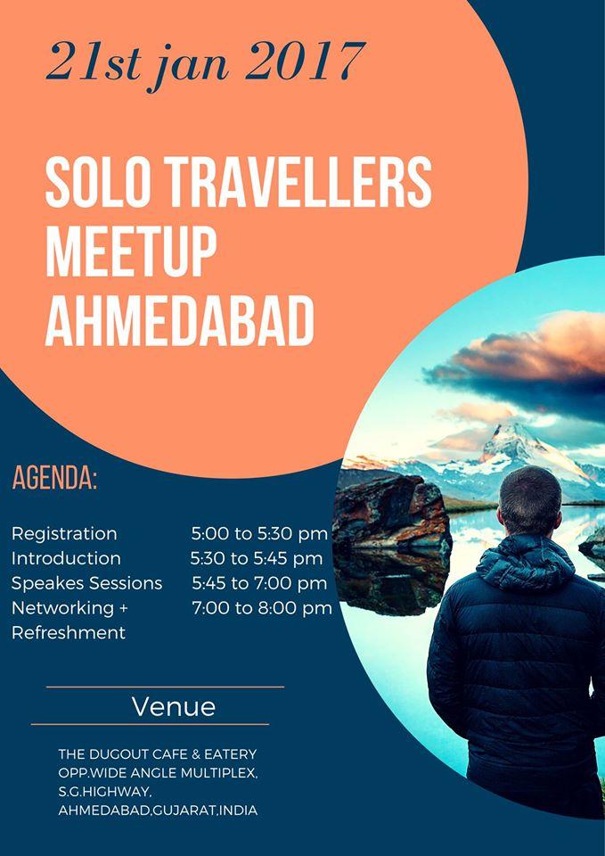 solo travellers meetup ahmedabad