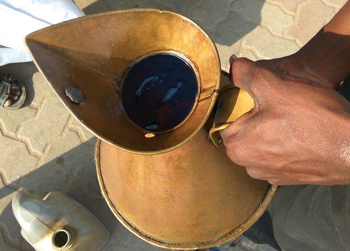 5 litres test petrol pump