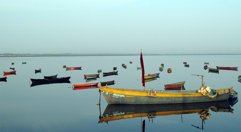 Fishing boat in Diu