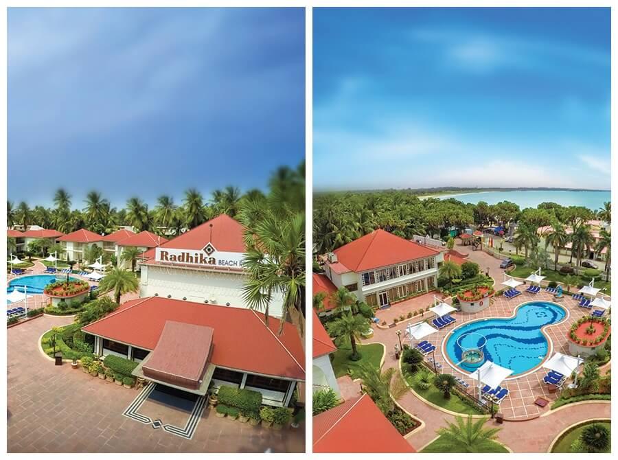 radhika beach resorts diu