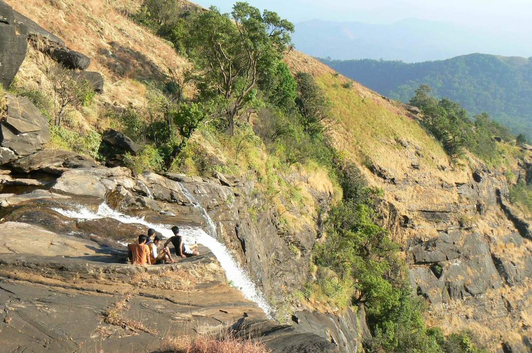 A Trek to Picturesque Bandaje Arbi Waterfalls in the Hills of Charmadi Ghat