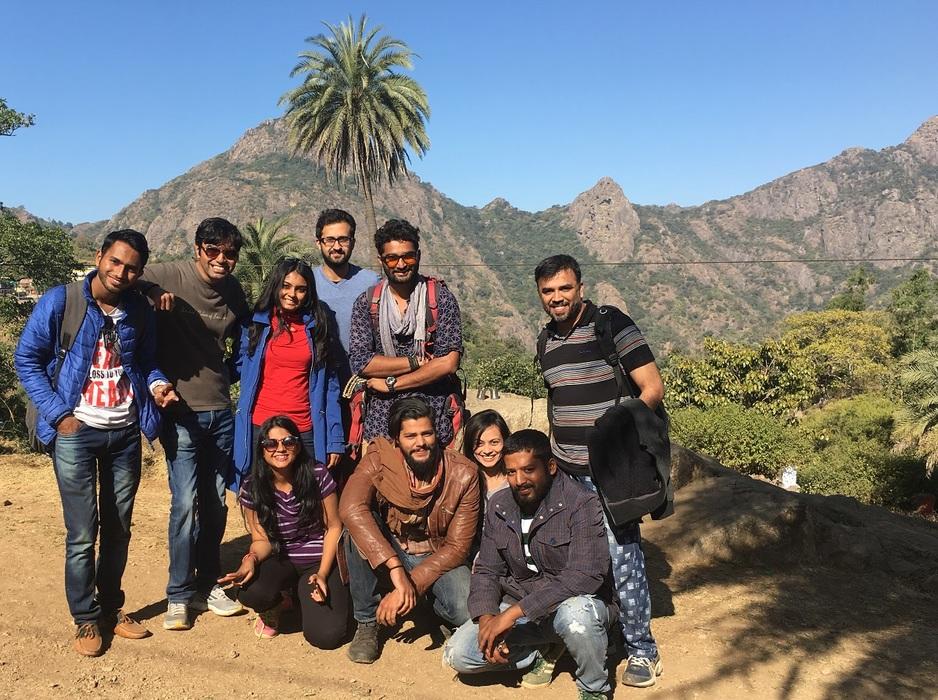 Group trip to mount abu