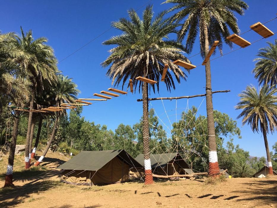 Tents setup in Mount Abu
